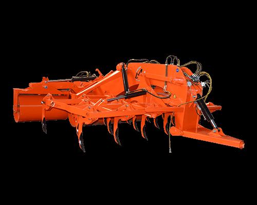 Rolă pliabilă hidraulică cu combinator agricol