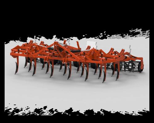 3-reihige Meißel pflug-bodenbearbeitungsmaschine